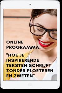online schrijf programma