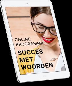 SUCCES MET WOORDEN